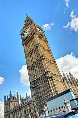 Big Ben Drawing - Big Ben by Tony Brooks