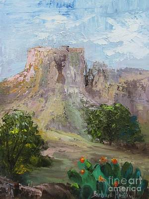 Big Bend Mesa  Art Print