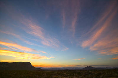 Photograph - Big Bend Sunset by Randy Green