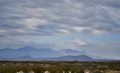 Photograph - Big Bend Vista by Nadalyn Larsen