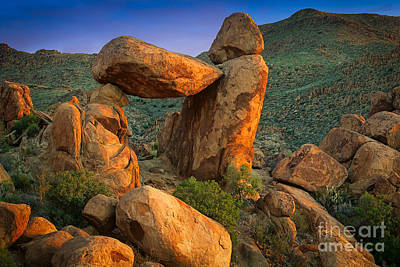 Grapevine Photograph - Big Bend Window Rock by Inge Johnsson
