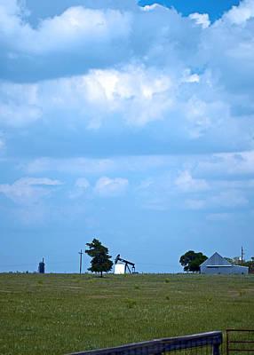 Photograph - Big Blue Texas Sky by Connie Fox