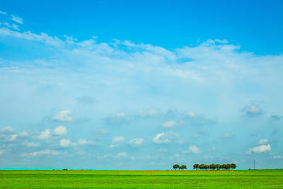 Photograph - Big Blue Texas Sky by Melinda Ledsome