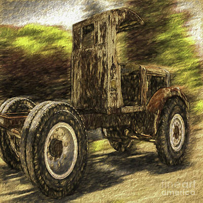 Photograph - Big Boy Toy by Jean OKeeffe Macro Abundance Art