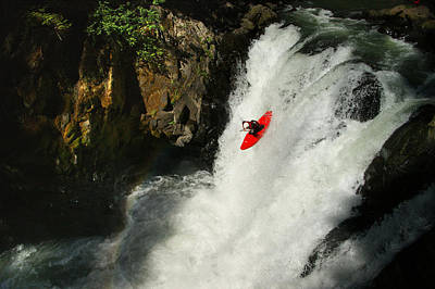 White Salmon River Photograph - Big Brother by Shawn Lonon