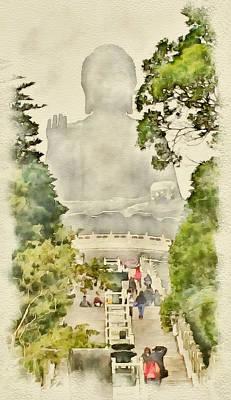 Big Buddha 2 Art Print