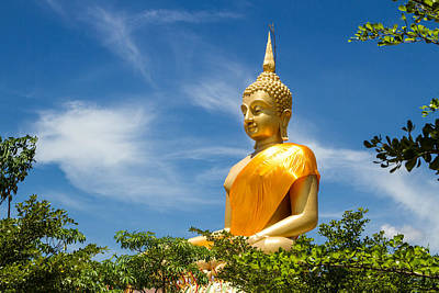 Big Buddha With Bluesky  Original