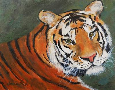 Painting - Big Cat by Jamie Frier