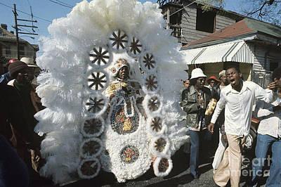 Big Chief Mardi Gras Indian Print by Christopher R Harris