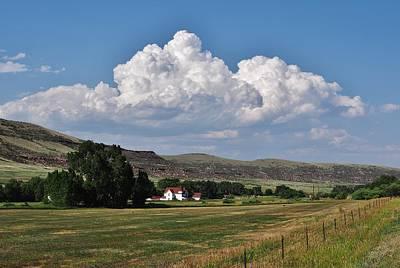 Keith Richards - Big Clouds in Colorado by David Pantuso