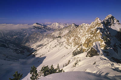 Big Cottonwood Canyon Photograph - Big Cottonwood Canyon At Top Of Mineral by Howie Garber