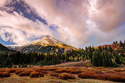 Photograph - Big Cottonwood Canyon by Dustin  LeFevre