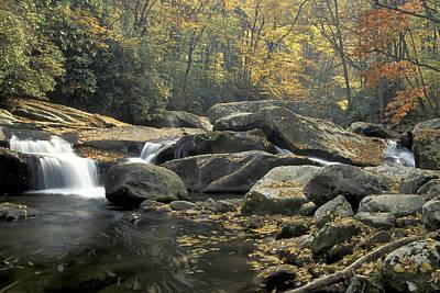 Photograph - Big Creek Cascade by Jim Dollar