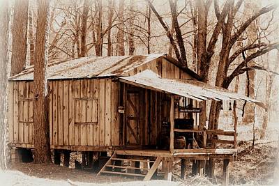 Photograph - Big Cypress Cabin by Betty Northcutt