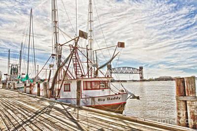 Louisiana Seafood Photograph - Big Daddy by Scott Pellegrin