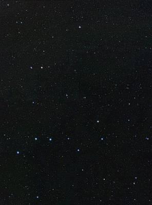 Constellations Photograph - Big Dipper And Ursa Minor Constellation by Eckhard Slawik