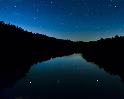 Photograph - Big Dipper Reflection by Jack R Perry