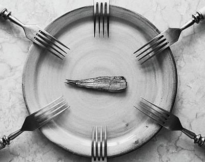 Cutlery Wall Art - Photograph - Big Family by Aleksandrova Karina