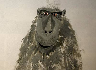 Painting - Big Foots Brother by Debbie May
