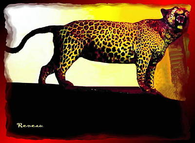 Photograph - Big Game Africa - Leopard by Sadie Reneau
