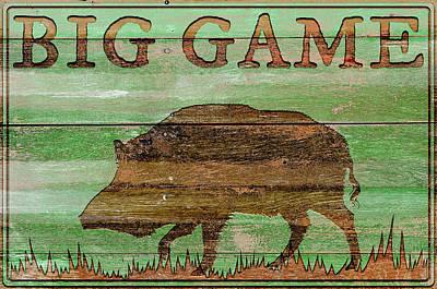 Boar Photograph - Big Game Boar by Cora Niele