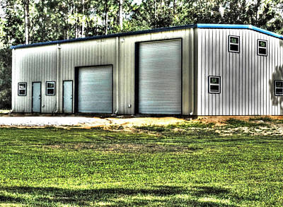 Photograph - Big Garage by Cathy Jourdan