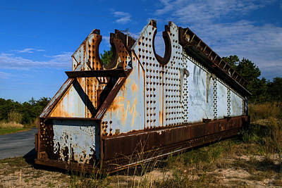 Photograph - Big Gun Girder At Fort Miles by Bill Swartwout Fine Art Photography