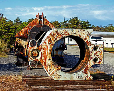 Photograph - Big Gun Yolk At Fort Miles by Bill Swartwout Fine Art Photography