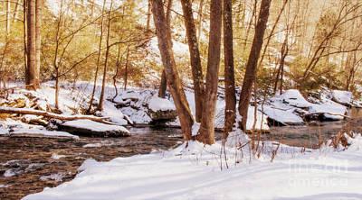 Photograph - Big Gunpowder Falls River 1 by Chris Scroggins
