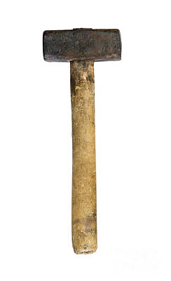 Hand Hammered Photograph - Big Hammer by Michal Boubin