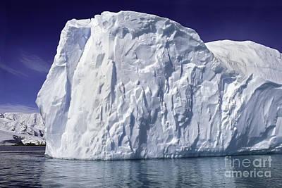Big Iceberg Art Print by Boon Mee