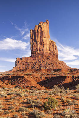 Photograph - Big Indian Butte Monument Valley Arizona by Colin and Linda McKie