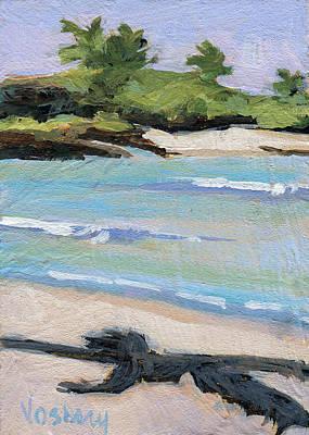 Haleiwa Painting - Big Island by Stacy Vosberg
