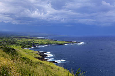 Photograph - Big Island Storm by Ed Cilley