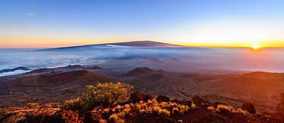 Photograph - Big Island Sunset 1 by Jason Chu