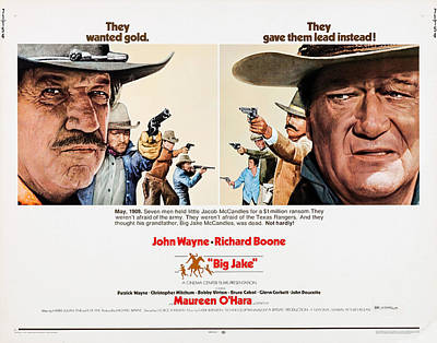 Big Jake, Us Lobbycard, Richard Boone Art Print by Everett