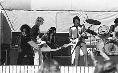 Photograph - Big Jam At Day On The Green 1976 by Ben Upham