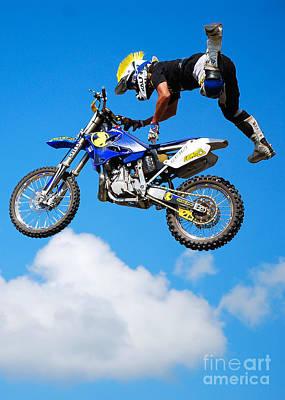 Photograph - Big Jump by Mark Spearman