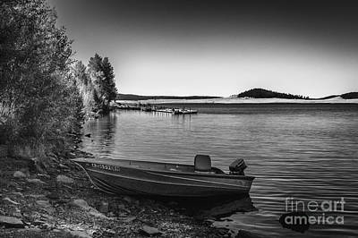 Outdoor Photograph - Big Lake by Arne Hansen
