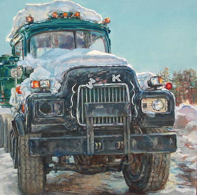 Big Mack Art Print by Sharon Jordan Bahosh