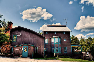 Photograph - Big Moose Inn Located In Eagle Bay Ny by David Patterson