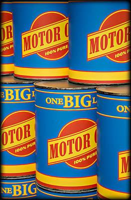 Photograph - Big Oil by Ricky Barnard