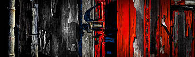 Photograph - Big Old Red Barn  by Bob Orsillo