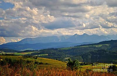 Big Open Skies Over Tatra Moutains Art Print by Maja Sokolowska