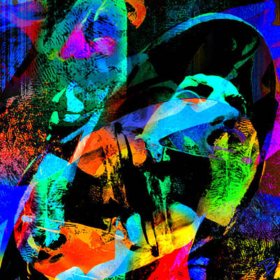 Pop Art Photograph - Big Picture by Barbs Popart