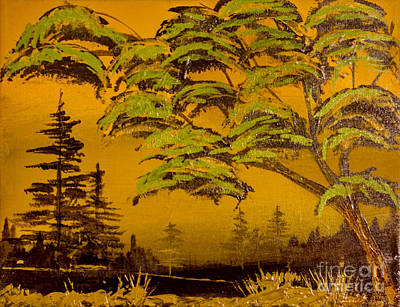 Painting - Big Pine by Ken Frischkorn
