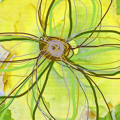 Big Pop Floral II Art Print by Ricki Mountain