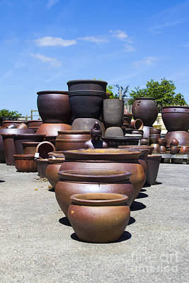Photograph - Big Pots by Brian Roscorla