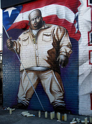 Mural Photograph - Big Pun by RicardMN Photography