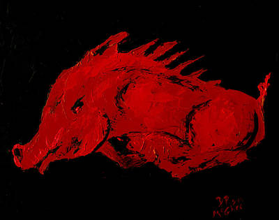 Painting - Big Red by David McGhee